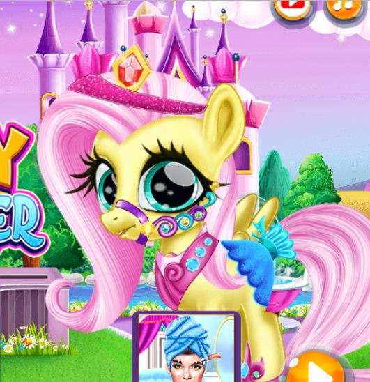 Little Pony Caretaker Game