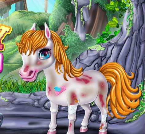 Little Pony First Aid Game