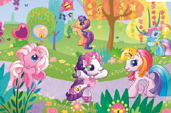 Little Pony Hidden Objects Game