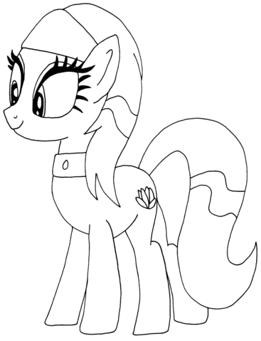 Lotus Blossom My Little Pony from My Little Pony Game
