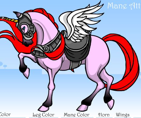 Mane Attraction Pony Dress Up Game
