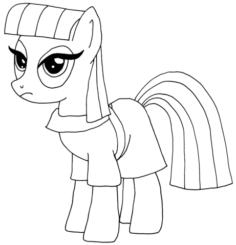 Maud Pie from My Little Pony Game