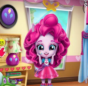 Minis Pinkie Pie Room Prep Game