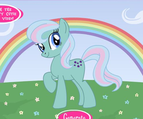 MLP Cutie Mark And Pony Name Generator Game