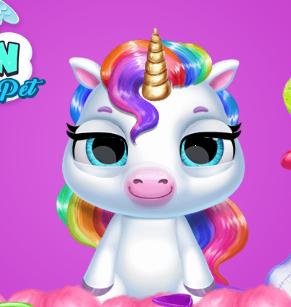 My Baby Unicorn Virtual Pony Pet Game