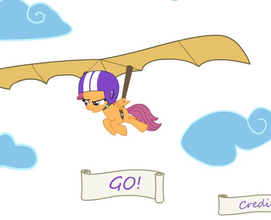 My Little Hang Glider Game