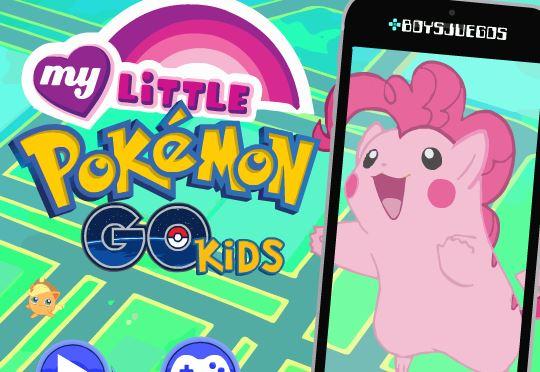 My Little Pokemon Go Kids Game