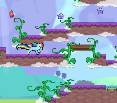 My Little Pony  In The Clouds Game