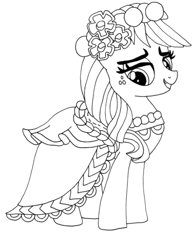 My Little Pony Applejack from My Little Pony Game