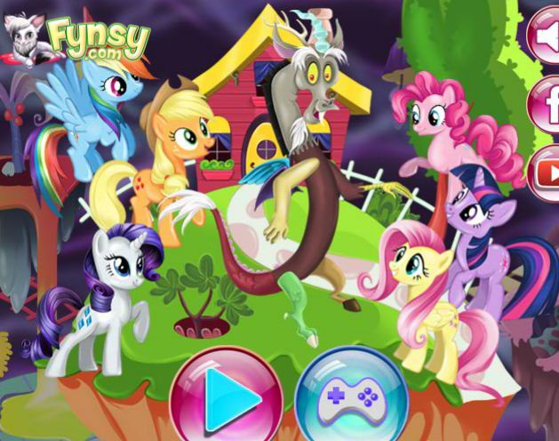 My Little Pony Chaos Management Game