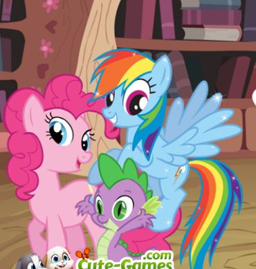 My Little Pony Coloring Book Game