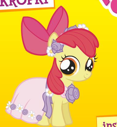 My Little Pony Connect The Dots Game