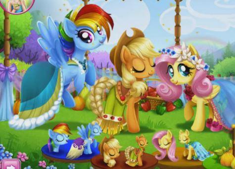 My Little Pony Farm Fest Game