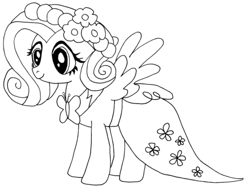 My Little Pony Fluttershy from My Little Pony Game