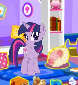 My Little Pony Holiday Prep Game