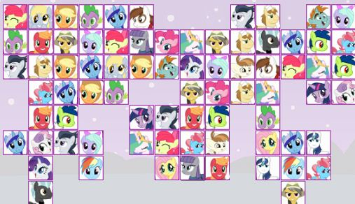 My Little Pony Link Up Game