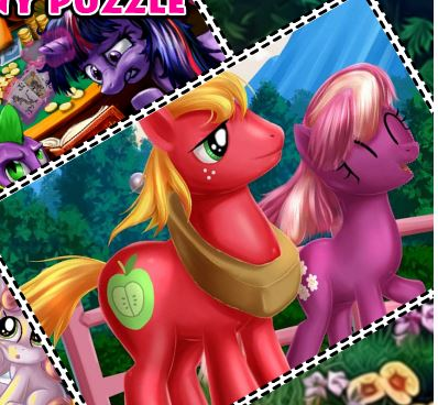 My Little Pony Puzzle 4 Game