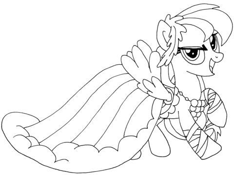 My Little Pony Rainbow Dash from My Little Pony Game