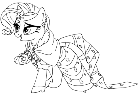 My Little Pony Rarity from My Little Pony Game