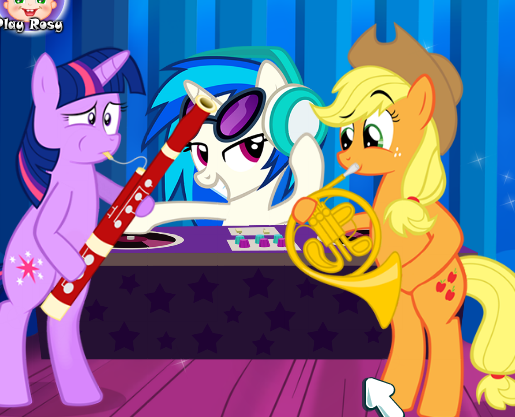 My Little Pony Rock Concert Game