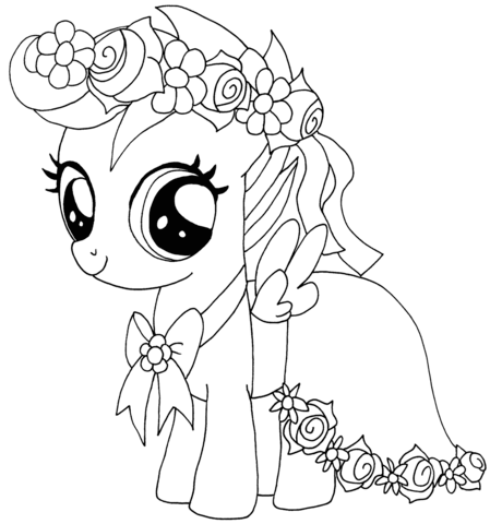 My Little Pony Scootaloo from My Little Pony Game