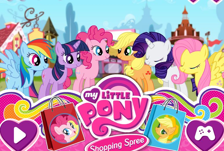 My Little Pony Shopping Spree Game