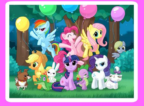 My Little Pony Sliding Puzzle 2 Game