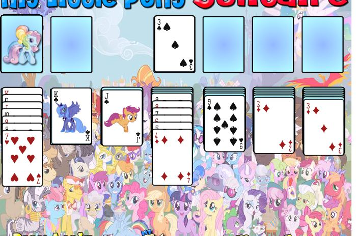 My Little Pony Solitaire Game
