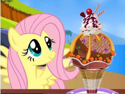 My Little Pony Sundae Game