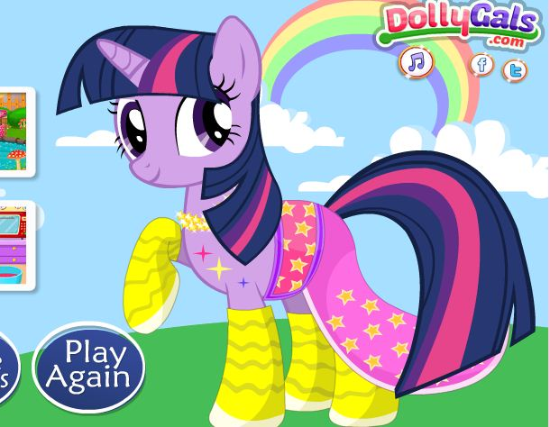 My Little Pony Twilight After Injury Game