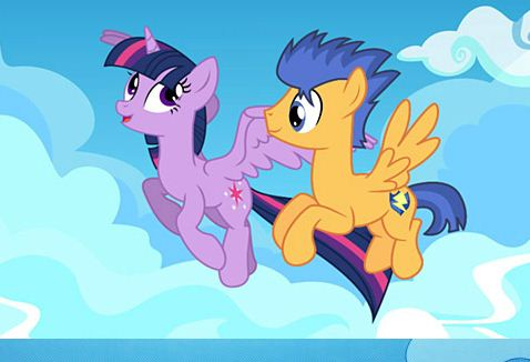 My Little Pony Twilight Sparkle And Flash Sentry Puzzle Game