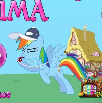 My Little Pony Zuma Game
