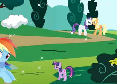 My Little Pony Jumping Game