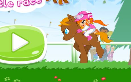 My Pony My Little Race Game