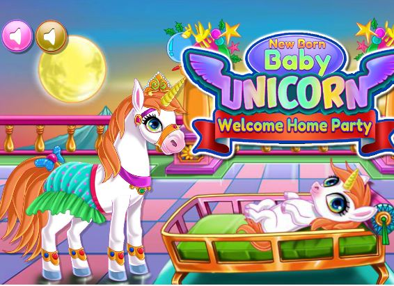 New Born Baby Unicorn Game