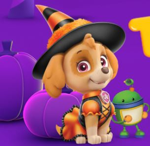 Nick Jr Halloween Tricks And Treats Game