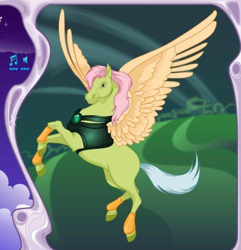 Pegasus Dress Up Game
