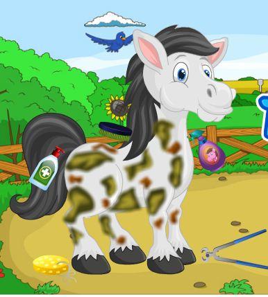Pet Horse Care Game