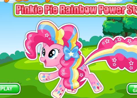Pinkie Pie Rainbow Power Style Game