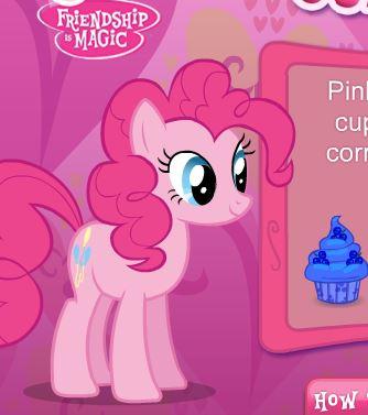 Pinkie Pie's Cupcake Maker Game