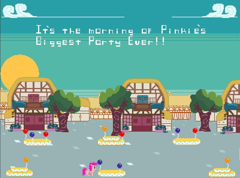Pinkie s Balloon Patrol Game