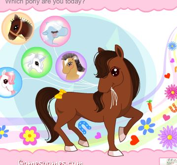 Ponies In The City Game
