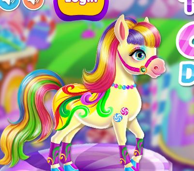 Pony Candy Dinner Time Game