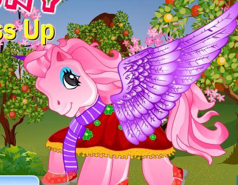 Pony Dress Up 3 Game