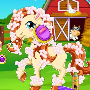 Pony Hair Salon Game