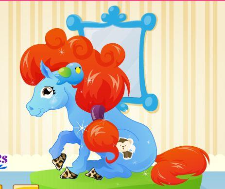 Pony Hairstylist Game
