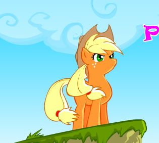 Pony Plat Forming Project Game