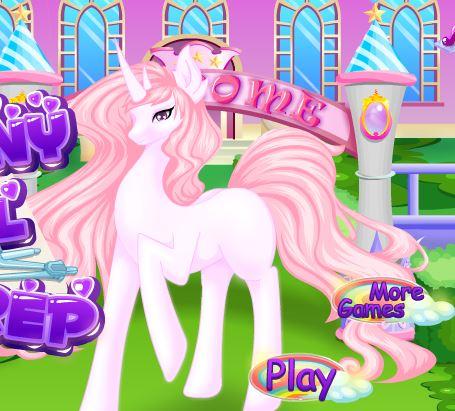 Pony School Prep Game