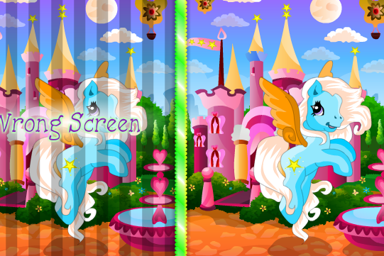 Pony Spot The Difference Game