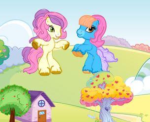 Ponyland Decoration Game